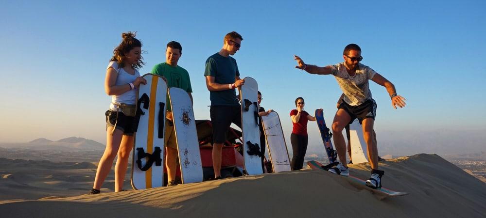 Dunebuggy & Sandboarding Guide - Escape From Lima